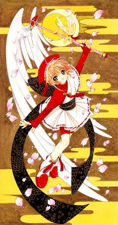 card captor sakura Part 4 - - Anime Image Cardcaptor Sakura, Sakura Card Captor, Sakura Kinomoto, Syaoran, Sakura Sakura, Studio Ghibli, Manga Anime, Hokusai, Xxxholic