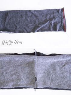 Step 4 - Sew Mens Shorts Tutorial - with drawstring and pockets - Melly Sews