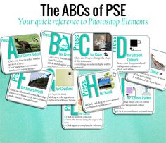 Click on the button below and I'll send your free Quick Reference Guide to the ABCs of PSE https://digiscraphq.leadpages.net/abcs-optin/