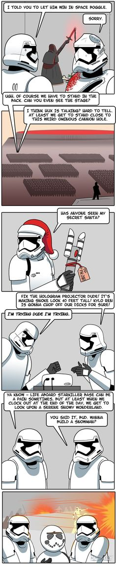 The Sh*tty Life of Every Stormtrooper
