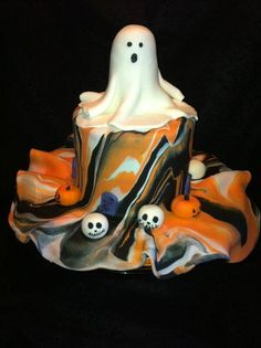 Adorable Ghost! - Cake by Heidi