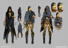 ArtStation - D'Vorah: character development, Mortal Kombat X, marco nelor
