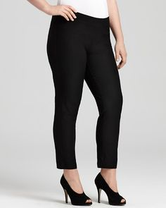Eileen Fisher Plus Size Slim Ankle Pants   Bloomingdale's