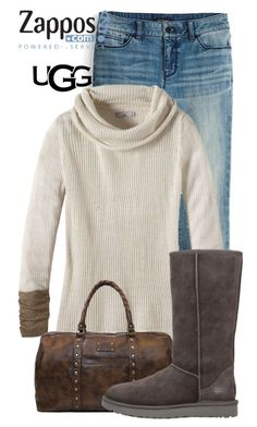 """""""The Icon Perfected: UGG Classic II Contest Entry"""" by jsusiemoore ❤ liked on Polyvore featuring White House Black Market, prAna, Patricia Nash, UGG Australia, ugg and contestentry"""