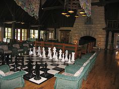 Matt proposed to me in this room! <3  (Pere Marquette Lodge in Grafton)