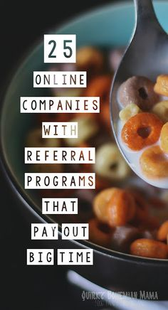 With enough referrals you can shop practically for free AND often times your friends get bonuses too. Refer and Earn: 50 Companies with Referral Programs that Pay Out Big Time. Refer a friend and earn money.  #money #referrals #onlineshopping #makemoney #ecommerce #makemoneyonline #easymoney