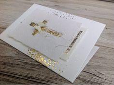 Mimi.ART, Minc, Kommunion, Konfirmation, Alexandra Renke, Engelsflügel, Schrumpffolie, Gold, Stampin'Up,