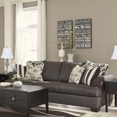 Levon Charcoal Sofa Loveseat Sofas And Loveseats Pinterest