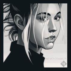 Alexis Ren portrait http://mad-smile.blogspot.fr/