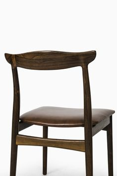 Erik Wørts dining chairs model 112 in rosewood at Studio Schalling