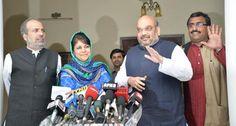 J-K: सरकार गठन पर BJP-PDP बातचीत फेल,BJP नहीं मानेगी शर्तें