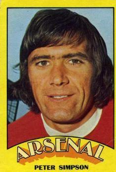 1974-75 A&BC Gum #115 Peter Simpson Front