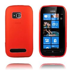 TPU Shell (Rød) Nokia Lumia 710 Deksel