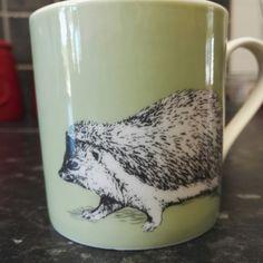 New #hedgehog mug