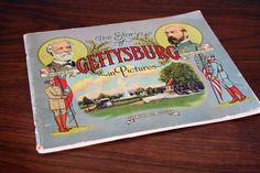 The Story of Gettysburg in Pictures  Vintage by TurtleHillShop, $25.00