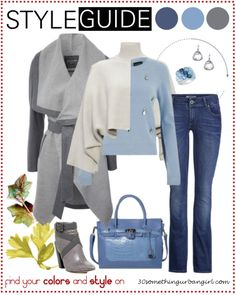 Bundle up for cold weather, casual outfit tip for Soft Summers | Find your best colors and style on www.30somethingurbangirl.com