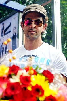 Hrithik Roshan at Dino's fitness station launch