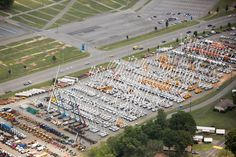 Several times each year, our Charlotte auction (in Concord, NC at Charlotte Motor Speedway) develops into an enormous auction where the public has a chance to get a deal on hundreds of good used cars, trucks, SUVs, flatbed trucks, cranes, construction equipment, trailers, tools and more.