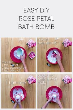 Not only can you fill your garden with beautiful blooms now you can fill your bath tub too This quick and easy DIY bath bomb made with gorgeous Endless Summer hydrangea petals and scented oils will make you feel as if you re relaxing in a field of flowers Easy Diy Crafts, Fun Crafts, Bath Boms, Homemade Bath Bombs, Diy Bath Bombs Easy, Mini Bath Bombs, Lush Bath Bombs, Diy Simple, Bath Bomb Recipes