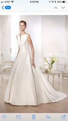 PRONOVIAS WEDDING DRESS; NEW; never worn or altered; excellent condition; size10
