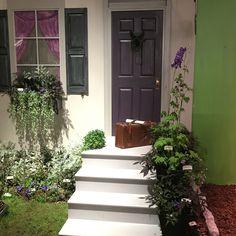 Philadelphia 2016 Horticultural Show - the Edgar Allen Poe Front Door Garden