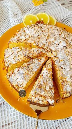 Beyaz Çikolatalı Limonlu Kek