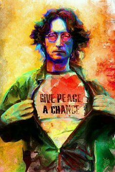 John Lennon to Ashlie Let it Be! Peace and Love