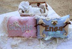 cuscinetti bimbi/ pillow for babies Giorgia Enea Shabby chic