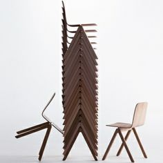 Copenhague chairs by Hay. Design by Ronan & Erwan Bouroullec.