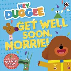 Features Duggee, a big dog with a big job - he runs the Squirrel Club. Every day he is joined by a group of fun-loving little critters who hope to collect their next Squirrel Club badge. Duggee and the Squirrels go to visit poor Norrie, who is feeling unwell. On their way to her mouse house, they meet some fun friends. #HappyReading