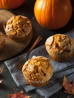 Muffins à la citrouille : Recette de Muffins à la citrouille - Marmiton