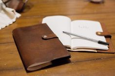 Now your journal can be as classy as you are. #leatherworking