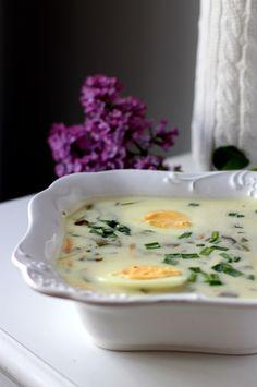 Tradycyjna zupa szczawiowa