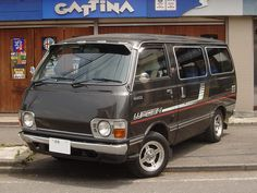 TOYOTA HIACE RH23G BLACK : OLD VAN Archives