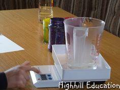 Density of Liquids - very easy to do experiment demonstrating density