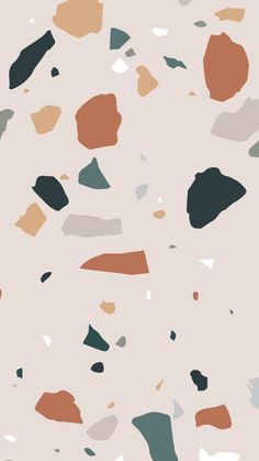 Inspiration Credit Unknown Interior Interior Design Design D cor Spring Eggshell Pastel Pattern Print Colour Terrazzo Green Grey Pink Orange Beige Taupe Wallpaper Pastel, Trendy Wallpaper, Cute Wallpapers, Wallpaper Backgrounds, Iphone Wallpaper, Wallpaper Art, Interesting Wallpapers, Pastel Pattern, Pattern Art
