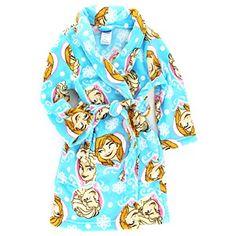 Disney Frozen Super Plush Robe Sizes 2T 3T or 4T NWT Retail $34