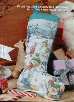 Gallery.ru / Фото #8 - Cross Stitch Crazy 143 ноябрь 2010 + приложение free christm - tymannost
