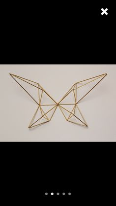 SpazzHappyLineDesign Etsy. Geometric butterfly