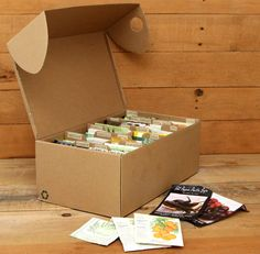 Make a Seed Box From Upcycled Shoe Boxes - A Piece Of Rainbow