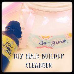 Natural Beauty: DIY Hair Buildup Cleanser for silky, shiny strands! Peaceful Dumpling
