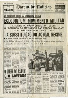 History Of Portugal, Daily Papers, Newspaper Archives, Good Old Times, History Class, Old Photos, Nostalgia, Journalism, Spain