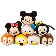 Mickey and Friends Expressions Tsum Tsum