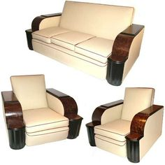 Art Deco 3 piece suite