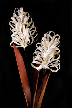 Cattail Paper Flower Project - Easy Paper Crafts