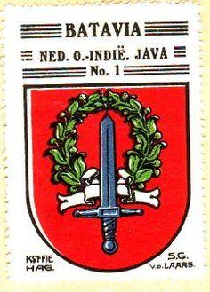 Vintage Stamps, Vintage Ads, Vintage Designs, Dutch East Indies, Old Ads, Coat Of Arms, Old Pictures, Trip Planning, Cap