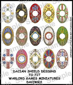 dacian shield - Google Search Shield Design, Ancient Rome, Warfare, Romania, Mythology, Celtic, Armour, Medieval, Miniatures