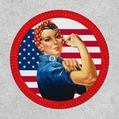 Scout Uniform, Rosie The Riveter, Blue Chevron, Boy Scouts, Different Shapes, Keep It Cleaner, Patches, Flag, Stitch