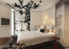 Une chambre à l'hôtel Molitor http://journalduluxe.fr/reouverture-piscine-molitor/