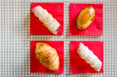 The Italian Job Morning pastries at Corrado Palmieri's counter are simple: croissant-like cornetti or cannoli dusted with powdered sugar and filled with a thick, gentle vanilla pastry cream. They're just what you'd find at the counter of a cafe in Italy, where regulars read La Stampa. But you are not in Italy. Palmieri graduated cum …
